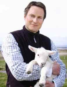 Claus Meyer med lam